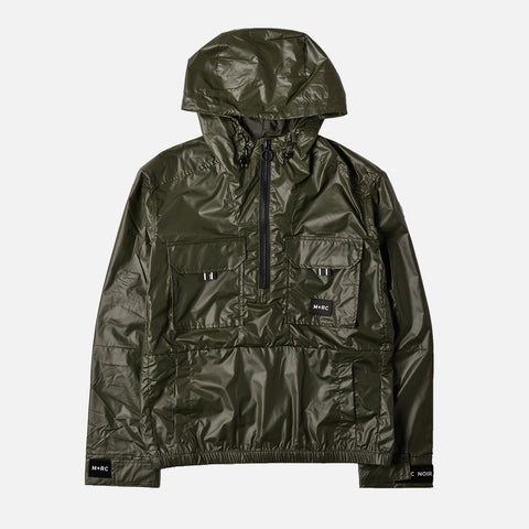 PU CARBON JACKET - DARK GREEN