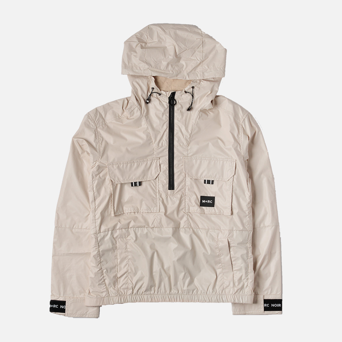 PU CARBON JACKET - BEIGE