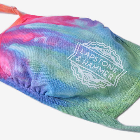 "LAPSTONE STANDARD ISSUE HAND DYE MASK ""STACK"" - MULTI / WHITE"
