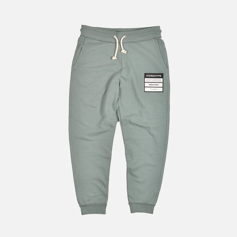 STEREOTYPE SWEATPANTS - BLACK