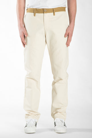 BARRINGTON SLIM PANT - NATURAL / WHEAT