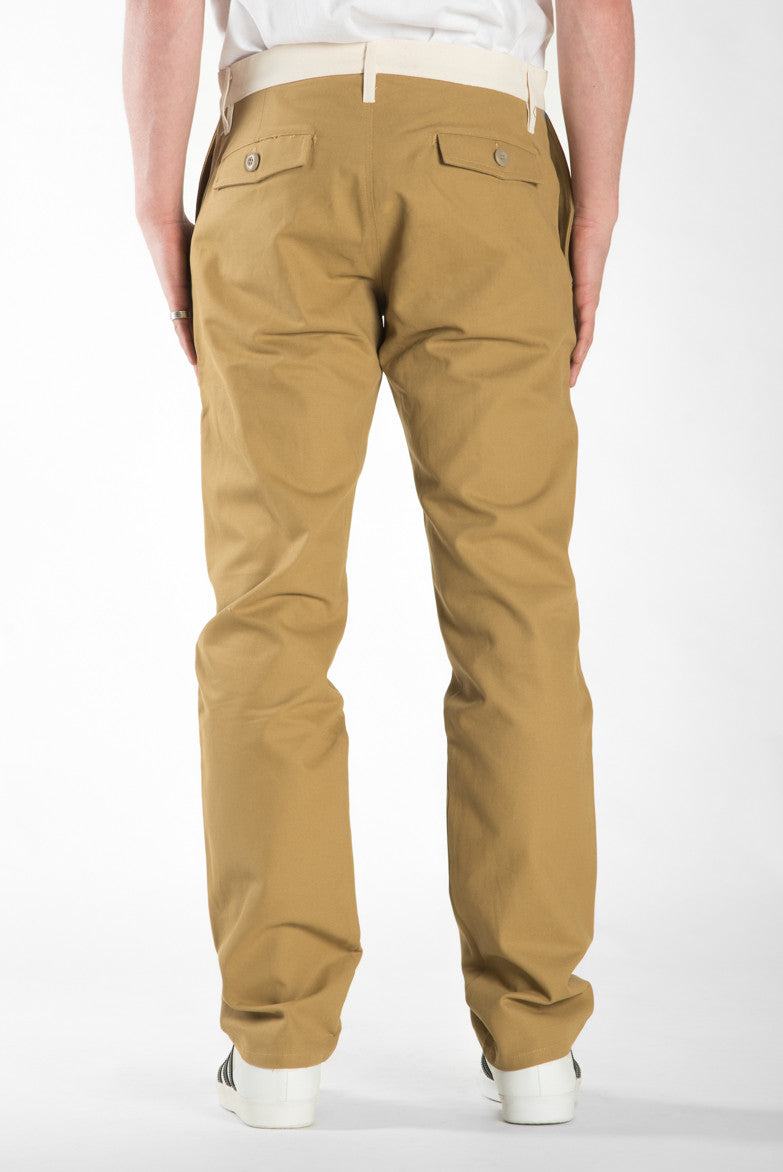 BARRINGTON SLIM PANT - WHEAT / NATURAL