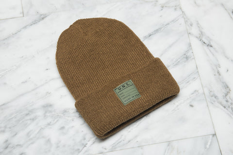 WOOL WATCH CAP - WHEAT