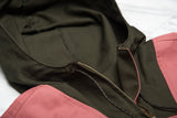 L&H EXCLUSIVE DUCK ANORAK - ROSE / OLIVE