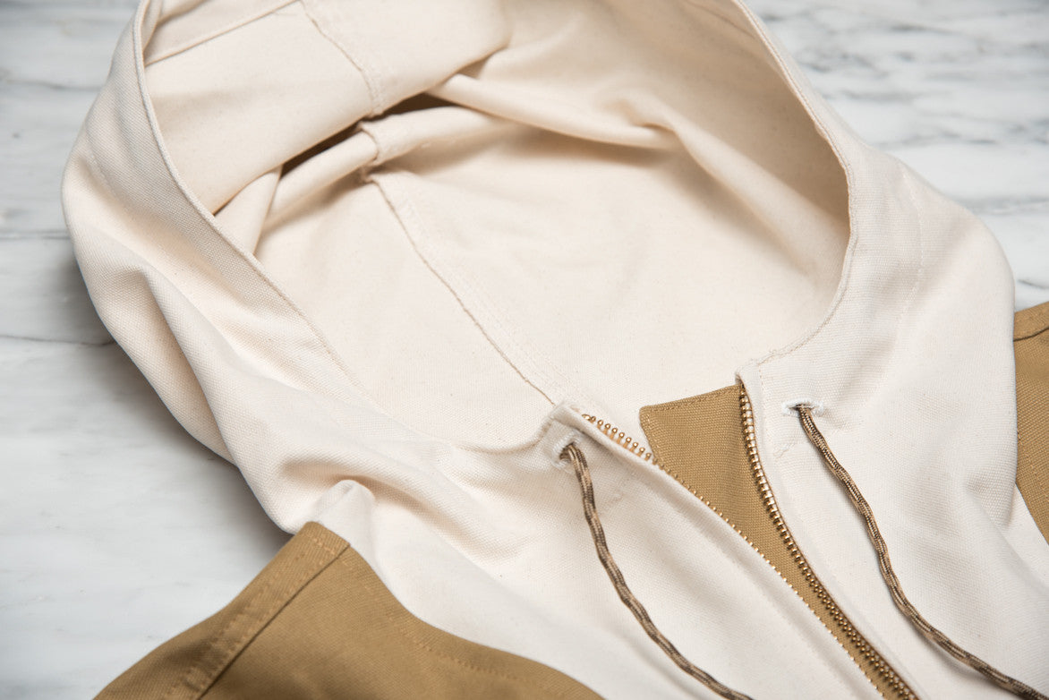 DUCK ANORAK - WHEAT / NATURAL