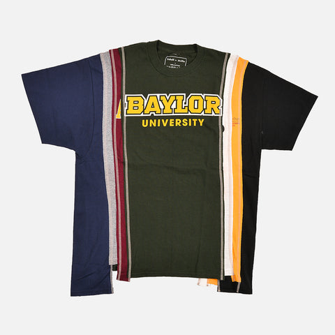 7 CUTS COLLEGE S/S TEE (LARGE) - MULTI / BAYLOR