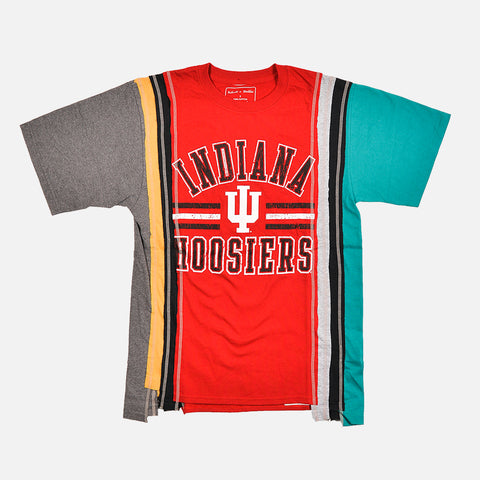 7 CUTS COLLEGE S/S TEE (SMALL) - MULTI / INDIANA