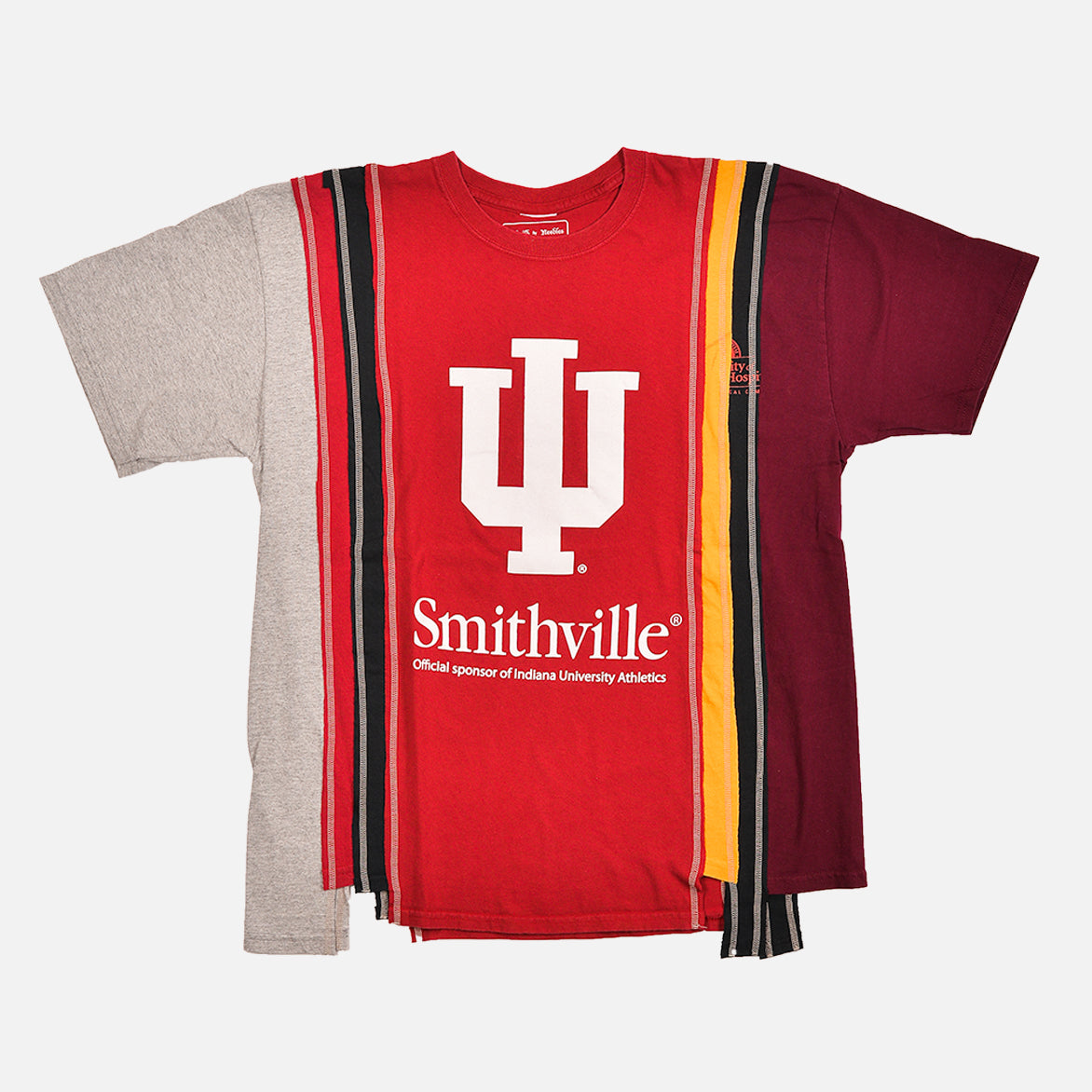 7 CUTS COLLEGE S/S TEE (XL) - MULTI / SMITHVILLE