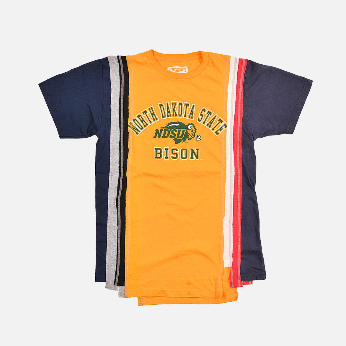 7 CUTS COLLEGE S/S TEE (MEDIUM) - MULTI / NORTH DAKOTA STATE