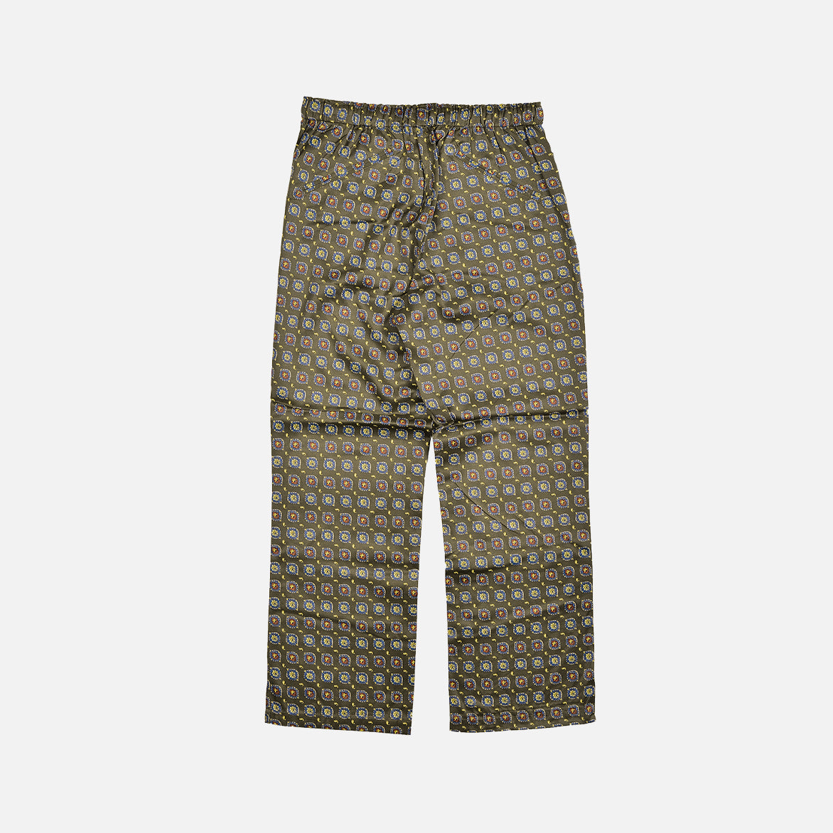 STRING ARROW EASY PANTS - OLIVE