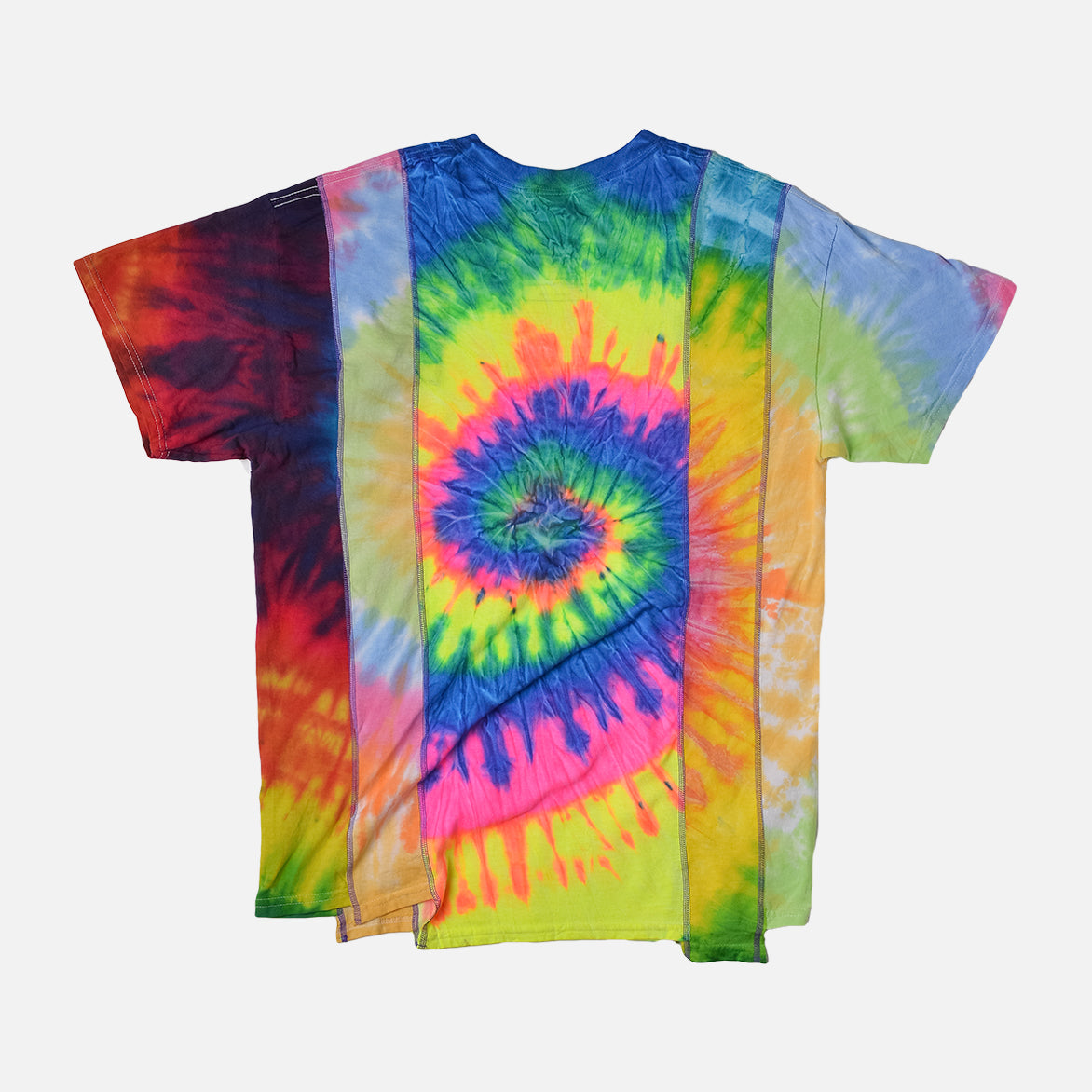 5 CUTS TIE DYE TEE SS19 (MEDIUM 2) - MULTI