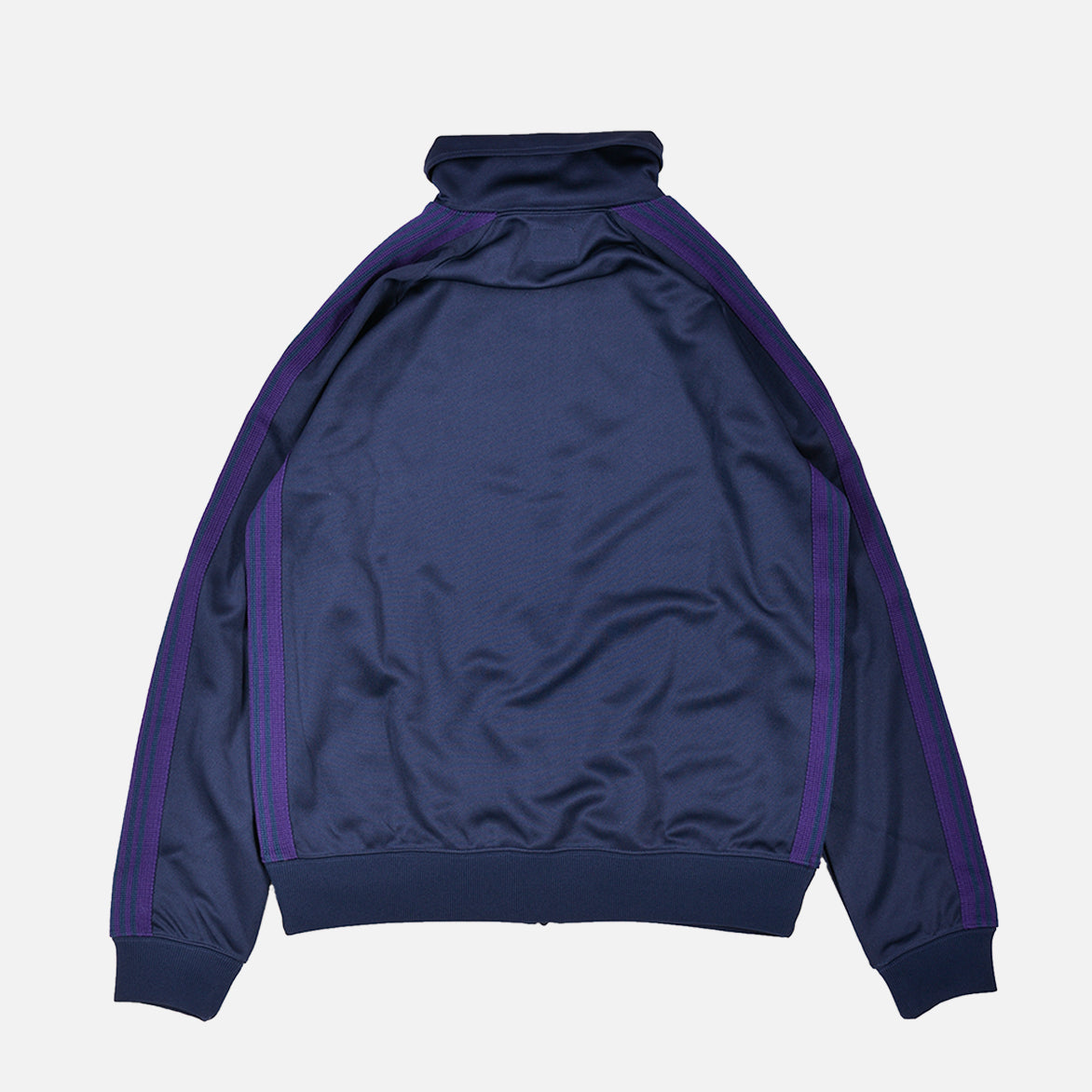 TRACK JACKET POLY SMOOTH - NAVY