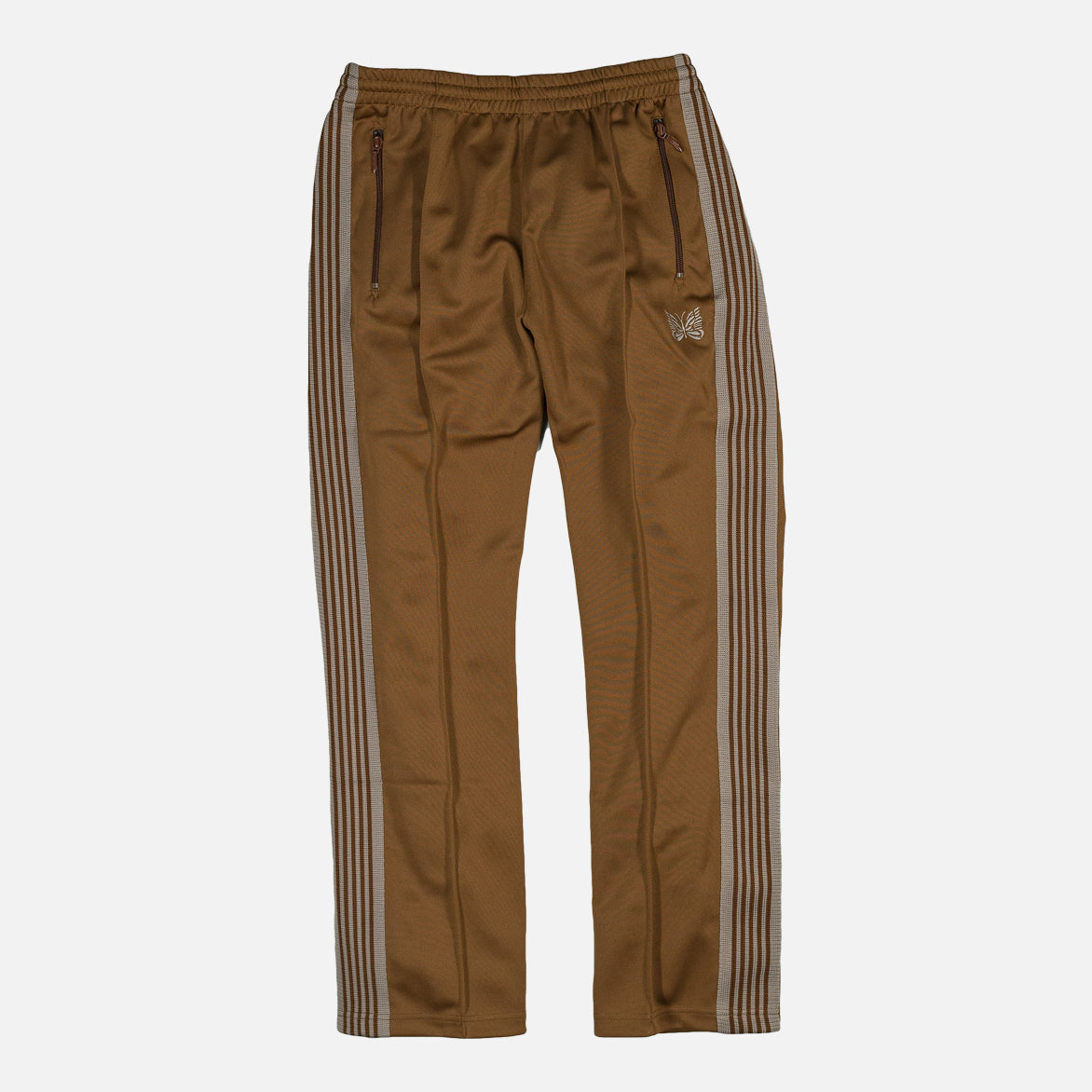NARROW TRACK PANT - BROWN