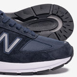 990V5 MADE IN USA - NAVY / SILVER