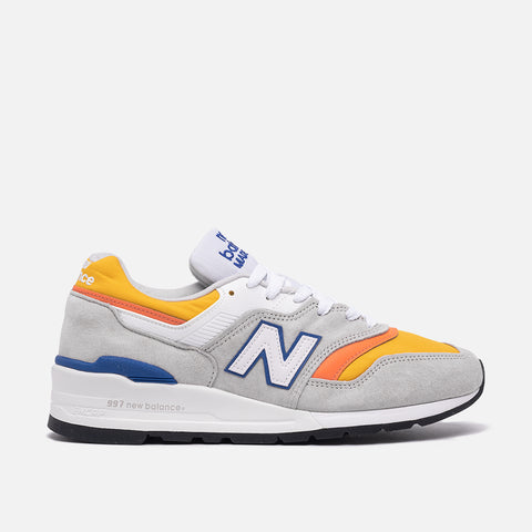 997 MADE IN THE USA - GREY / YELLOW / BLUE