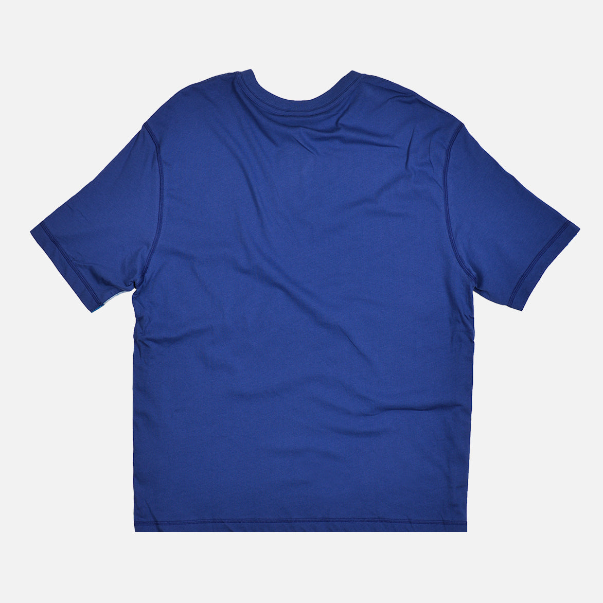 NSW COLOR BLOCK KNIT TEE - DEEP ROYAL BLUE / BLACK
