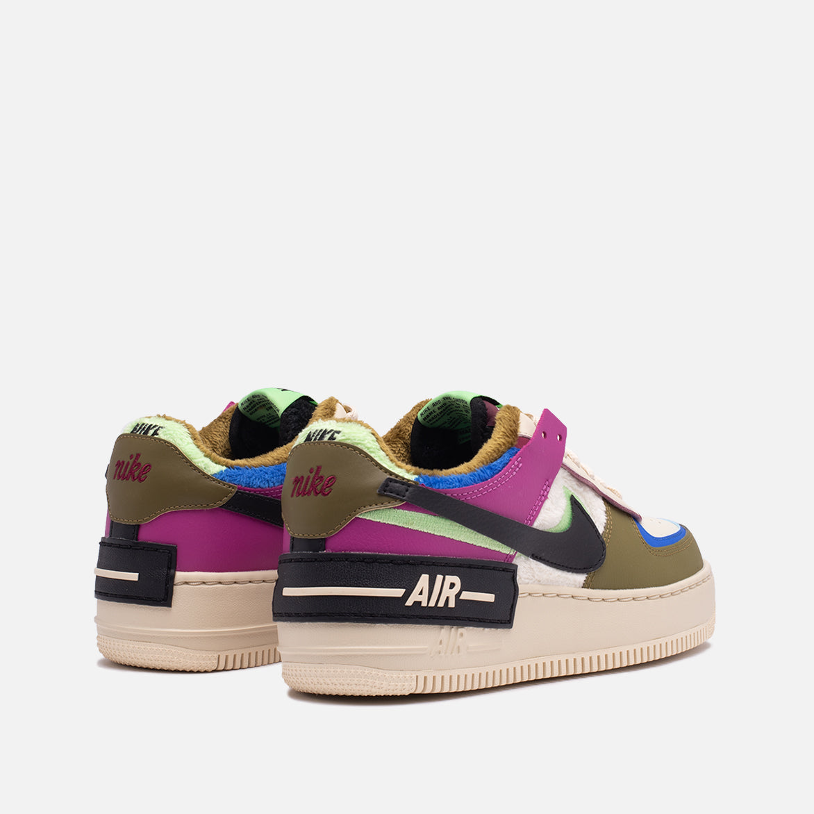 "WMNS AIR FORCE 1 SHADOW SE ""CACTUS FLOWER"""