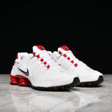SHOX NZ - WHITE / UNIVERSITY RED