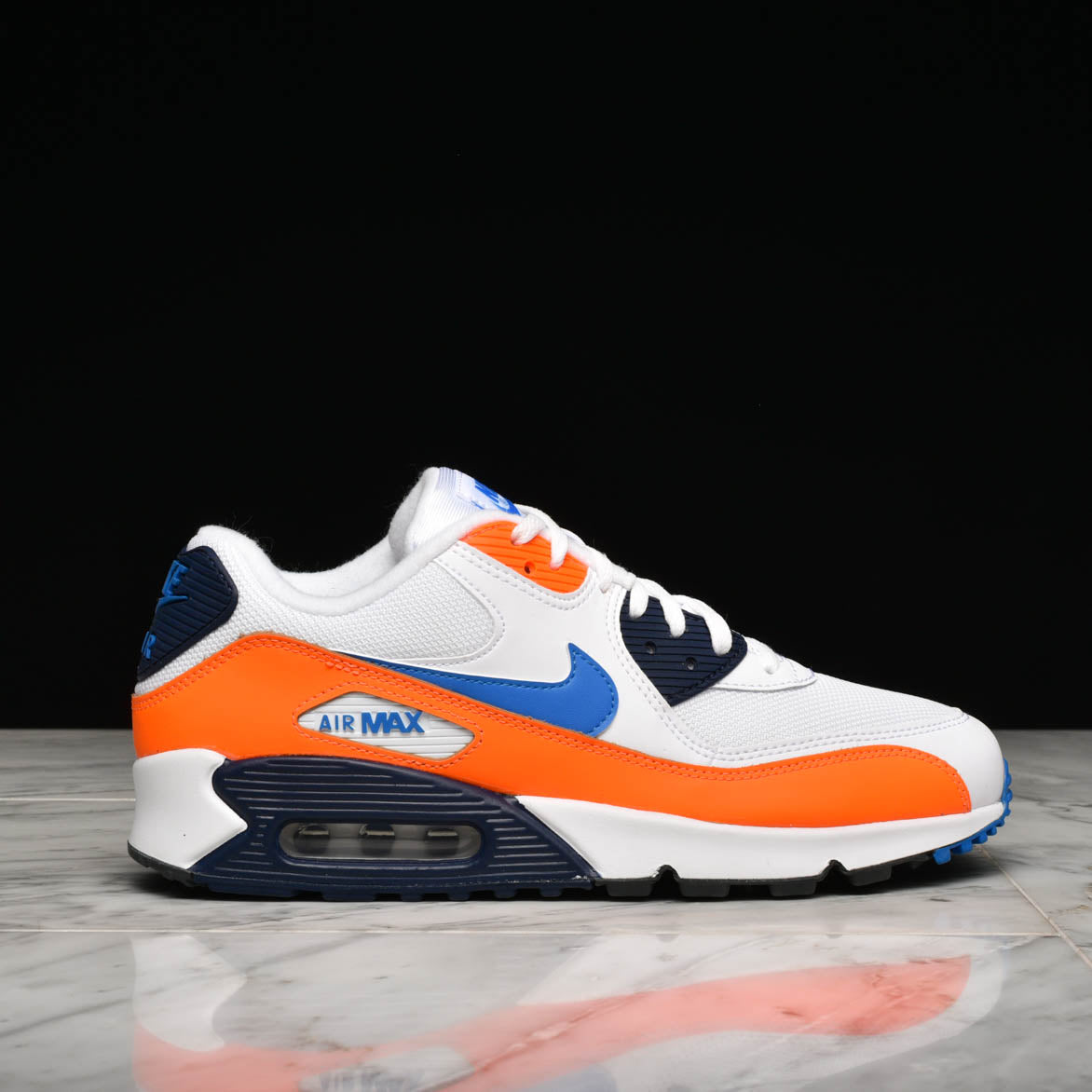 a7f7f35b5c AIR MAX 90 ESSENTIAL - WHITE / PHOTO BLUE / TOTAL ORANGE |  lapstoneandhammer.com