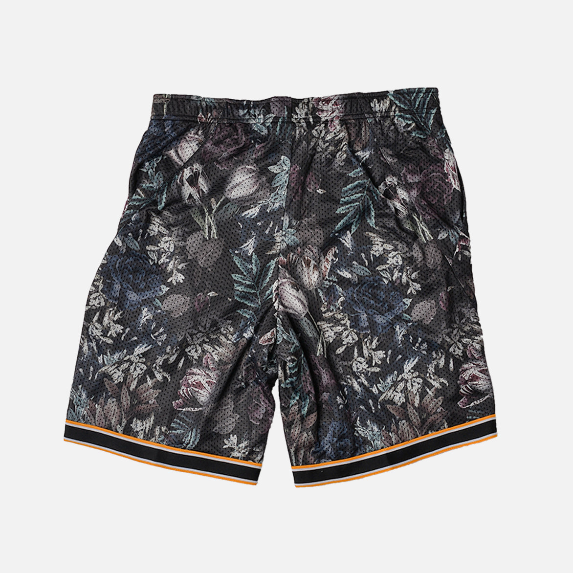 NIKECOURT FLEX ACE SHORT - BLACK / CANYON GOLD / FLORAL
