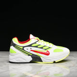 AIR GHOST RACER - WHITE / ATOM RED / NEON YELLOW