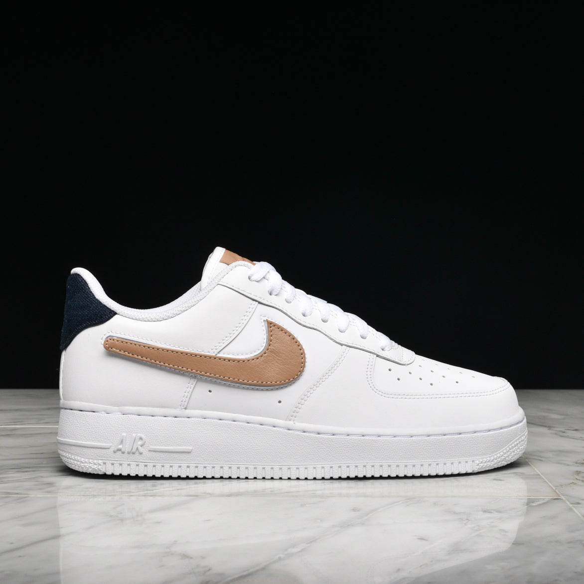 2air force 1 velcro swoosh