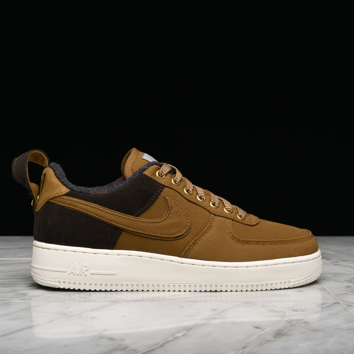 NIKE X CARHARTT AIR FORCE 1 '07 PRM WIP ALEBROWNSAIL