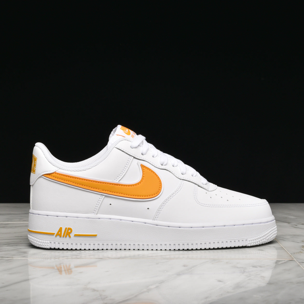 `07 White 1 Force University Air 3 Gold N80wOvnm