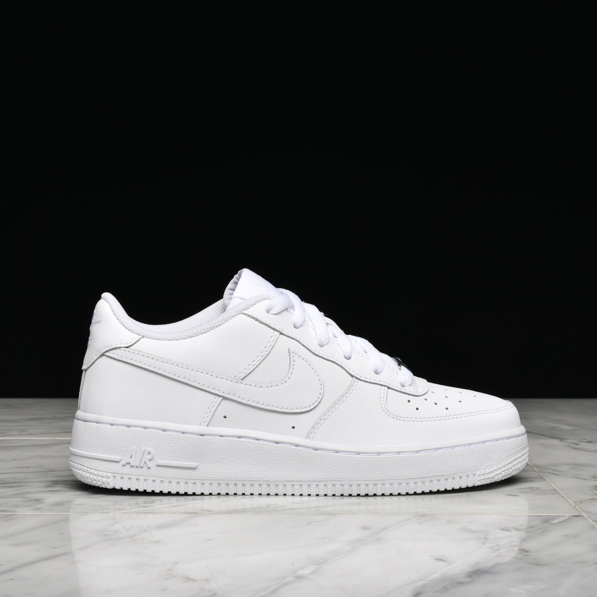 Nike Air Force 1 Low GS AIR FORCE 1 LOW (GS) - WHITE | lapstoneandhammer.com