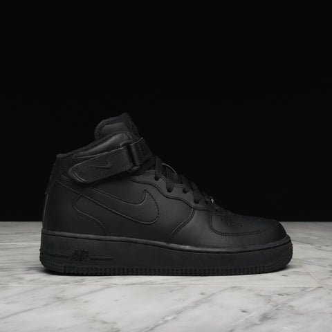 AIR FORCE 1 MID (GS) - BLACK