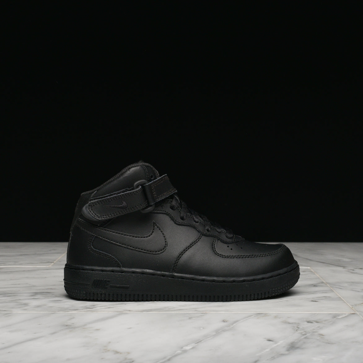 AIR FORCE 1 MID (PS) - BLACK