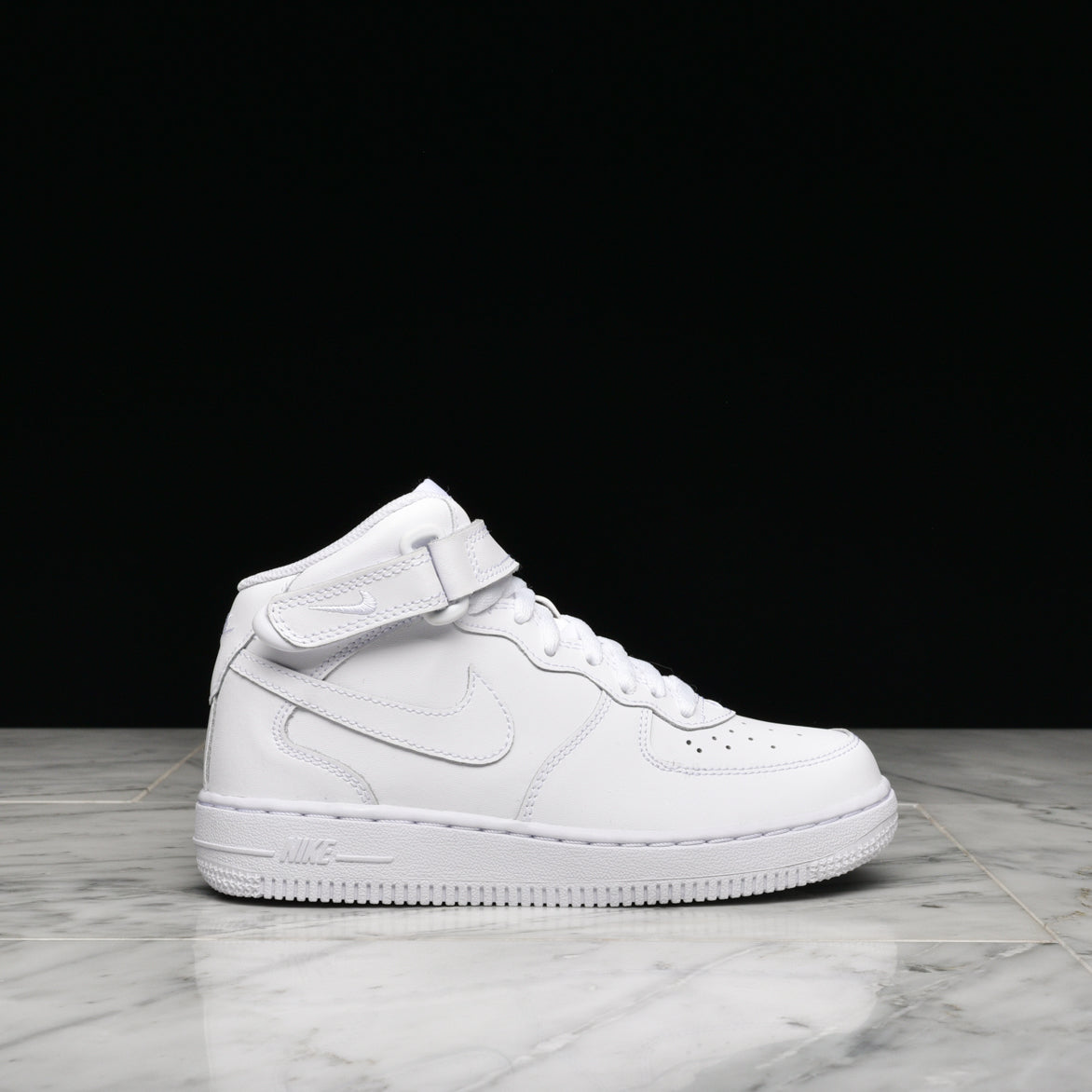 AIR FORCE 1 MID (PS) - WHITE