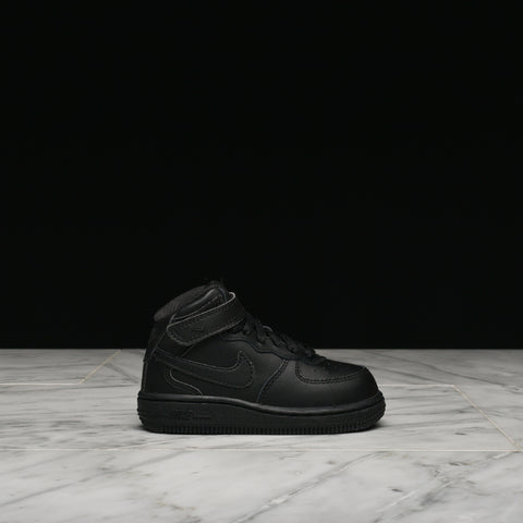 AIR FORCE 1 MID (TD) - BLACK