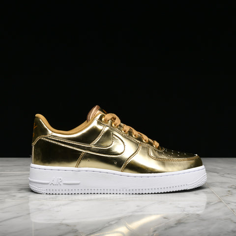 "WMNS AIR FORCE 1 SP ""METALLIC GOLD"""