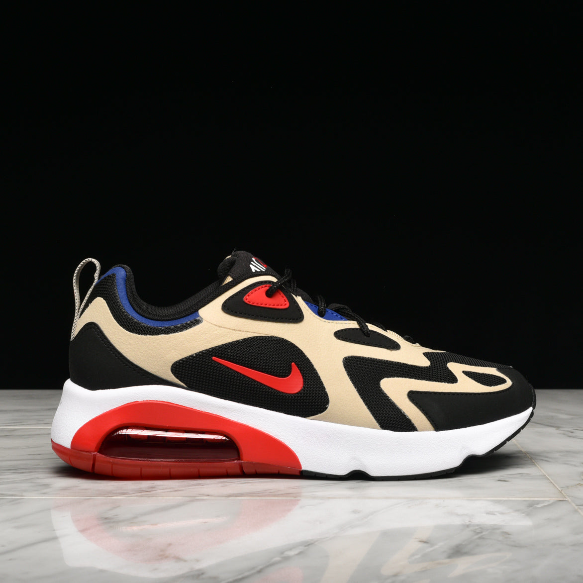 AIR MAX 200 - TEAM GOLD / UNIVERSITY RED