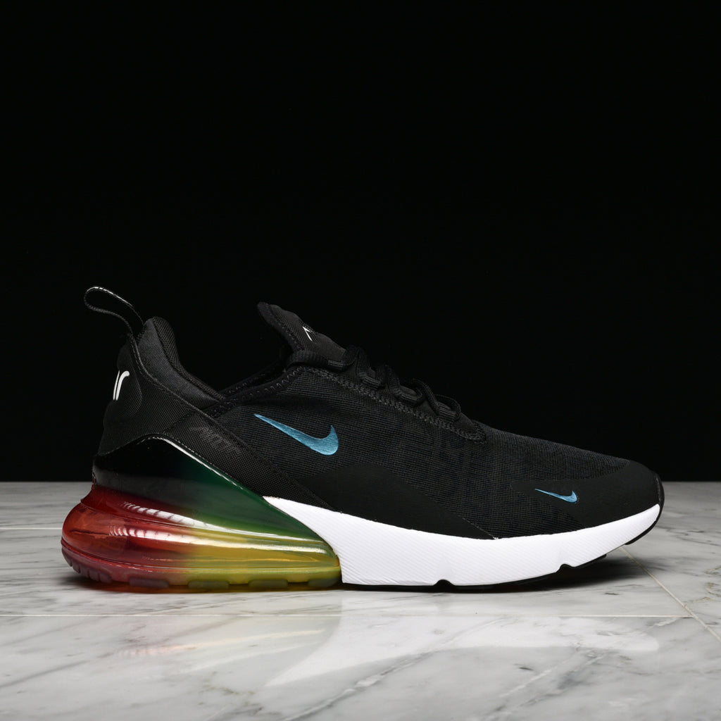 AIR MAX 270 SE BLACK BLACK LASER ORANGE