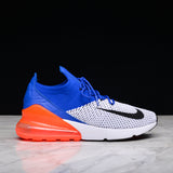 AIR MAX 270 FLYKNIT - RACER BLUE / TOTAL CRIMSON