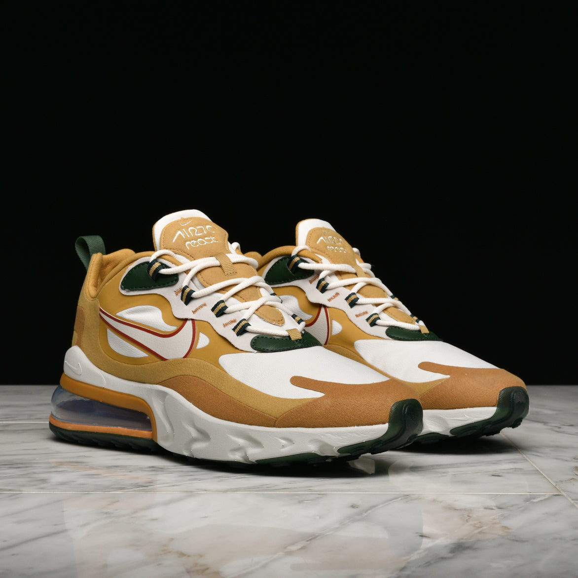 AIR MAX 270 REACT CLUB GOLD LIGHT BONE