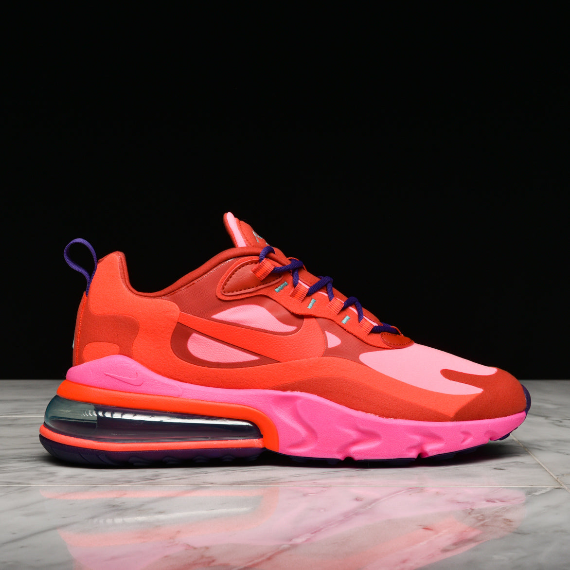 Air Max 270 React Mystic Red Bright Crimson Lapstoneandhammer Com