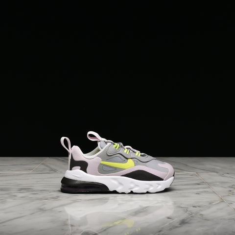 AIR MAX 270 REACT (TD) - PARTICLE GREY / LEMON VENOM