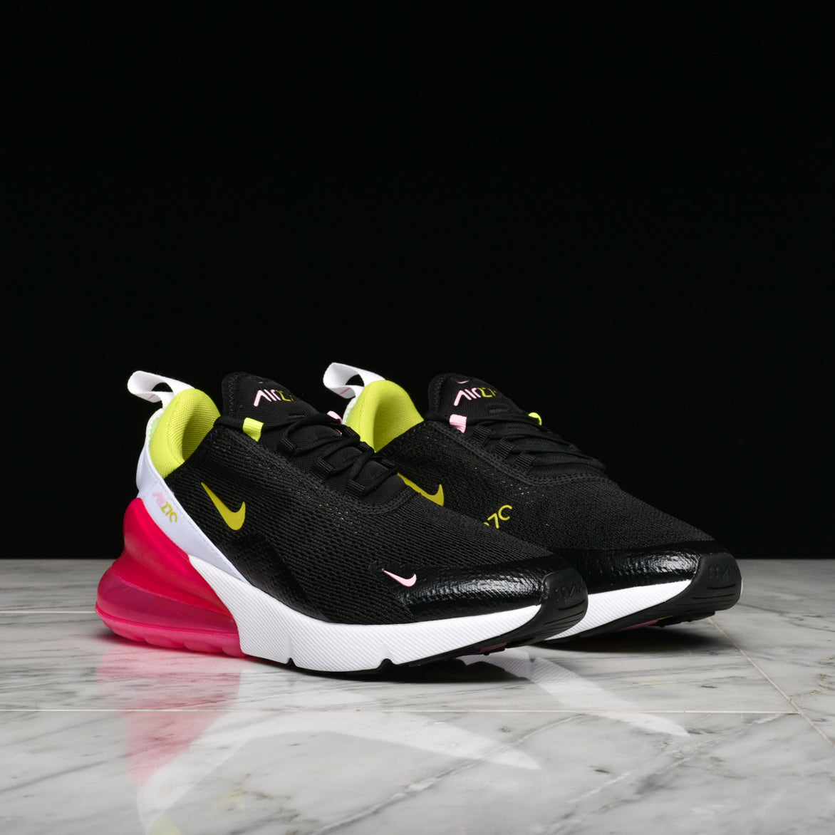 best loved 47702 9a193 WMNS AIR MAX 270 - BLACK / CYBER / PINK RISE