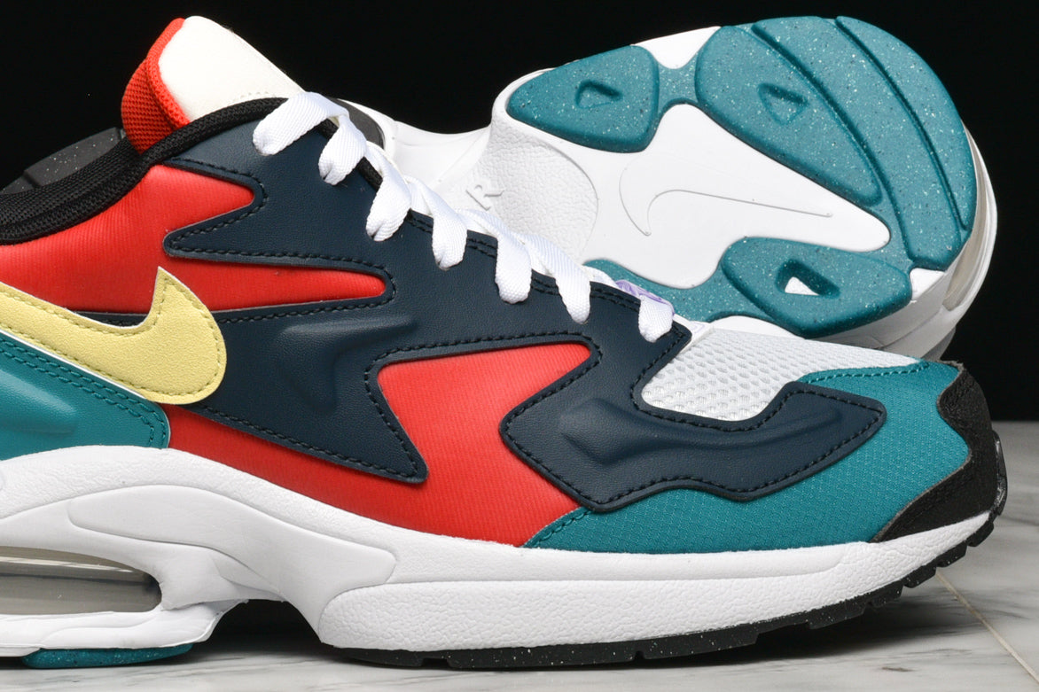 AIR MAX2 LIGHT SP - HABANERO RED / ARMORY NAVY / RADIANT EMERALD