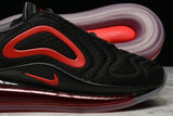 AIR MAX 720 (GS) - BLACK / UNIVERSITY RED