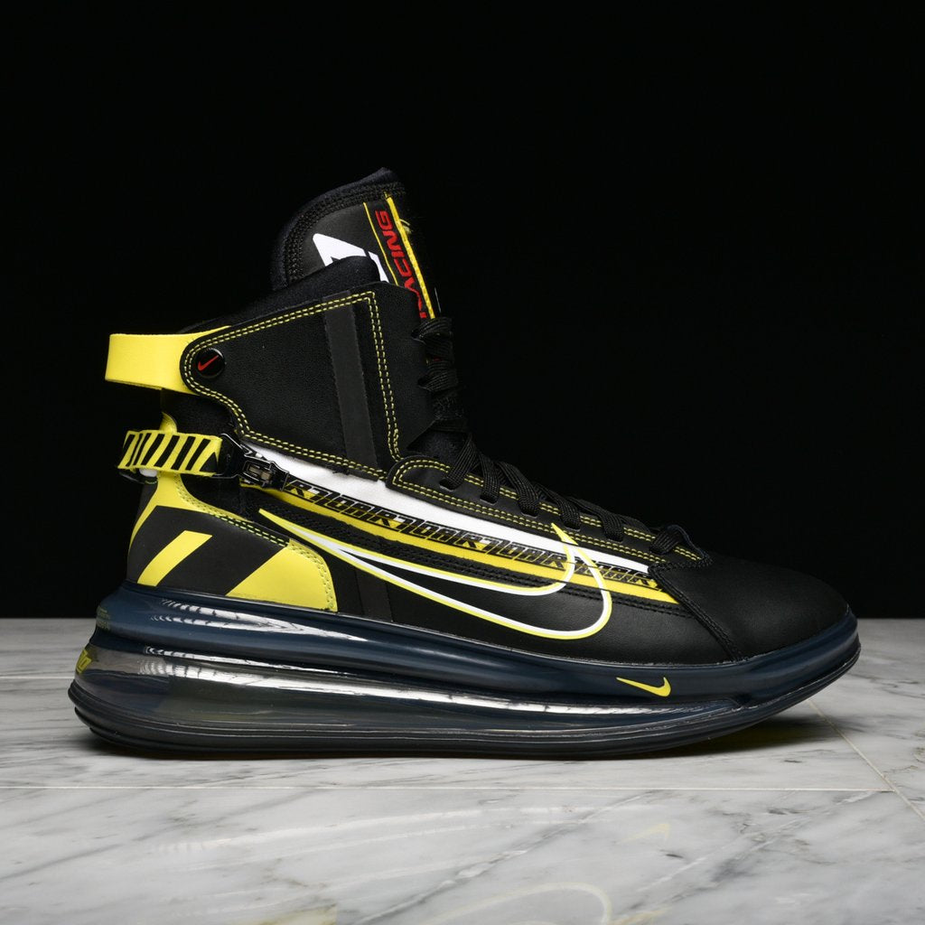 wholesale dealer 34a19 0401b AIR MAX 720 SATURN AS QS - BLACK   DYNAMIC YELLOW ...