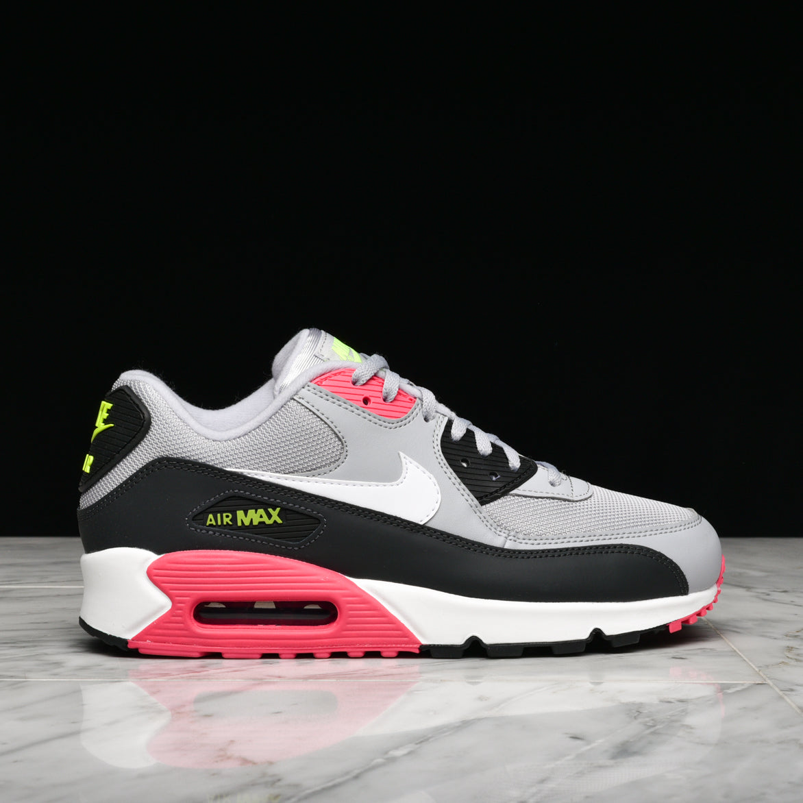 hot sale online af649 f5bfc AIR MAX 90 ESSENTIAL - WOLF GREY / WHITE / RUSH PINK | lapstoneandhammer.com