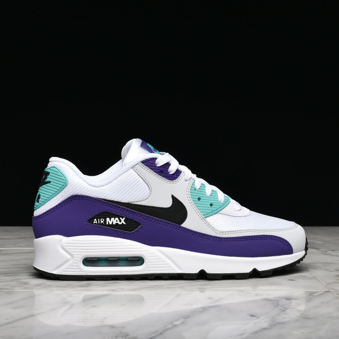 new concept 59992 de910 AIR MAX 90 ESSENTIAL - WHITE / BLACK / HYPER JADE