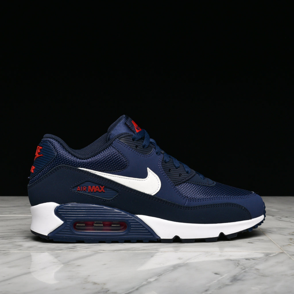 new arrival cae13 521ee AIR MAX 90 ESSENTIAL - MIDNIGHT NAVY / WHITE