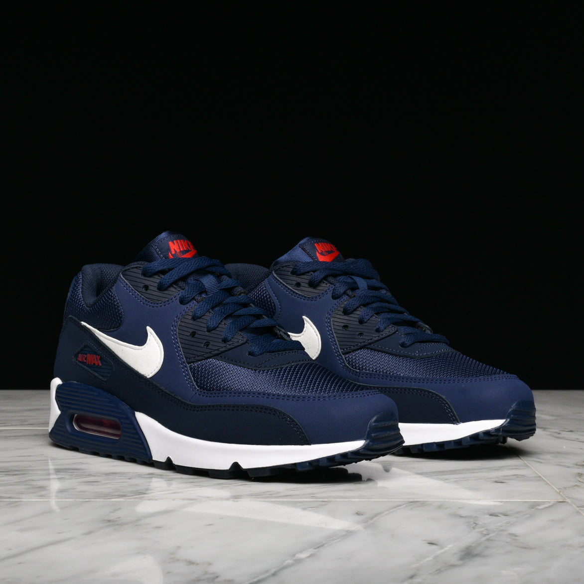 AIR MAX 90 ESSENTIAL - MIDNIGHT NAVY / WHITE