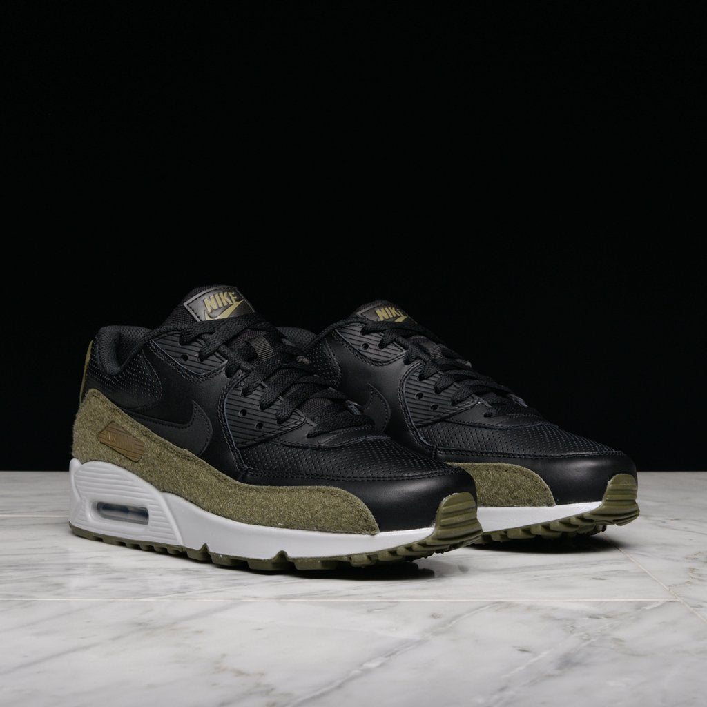 AIR MAX 90 HAL - BLACK / MEDIUM OLIVE