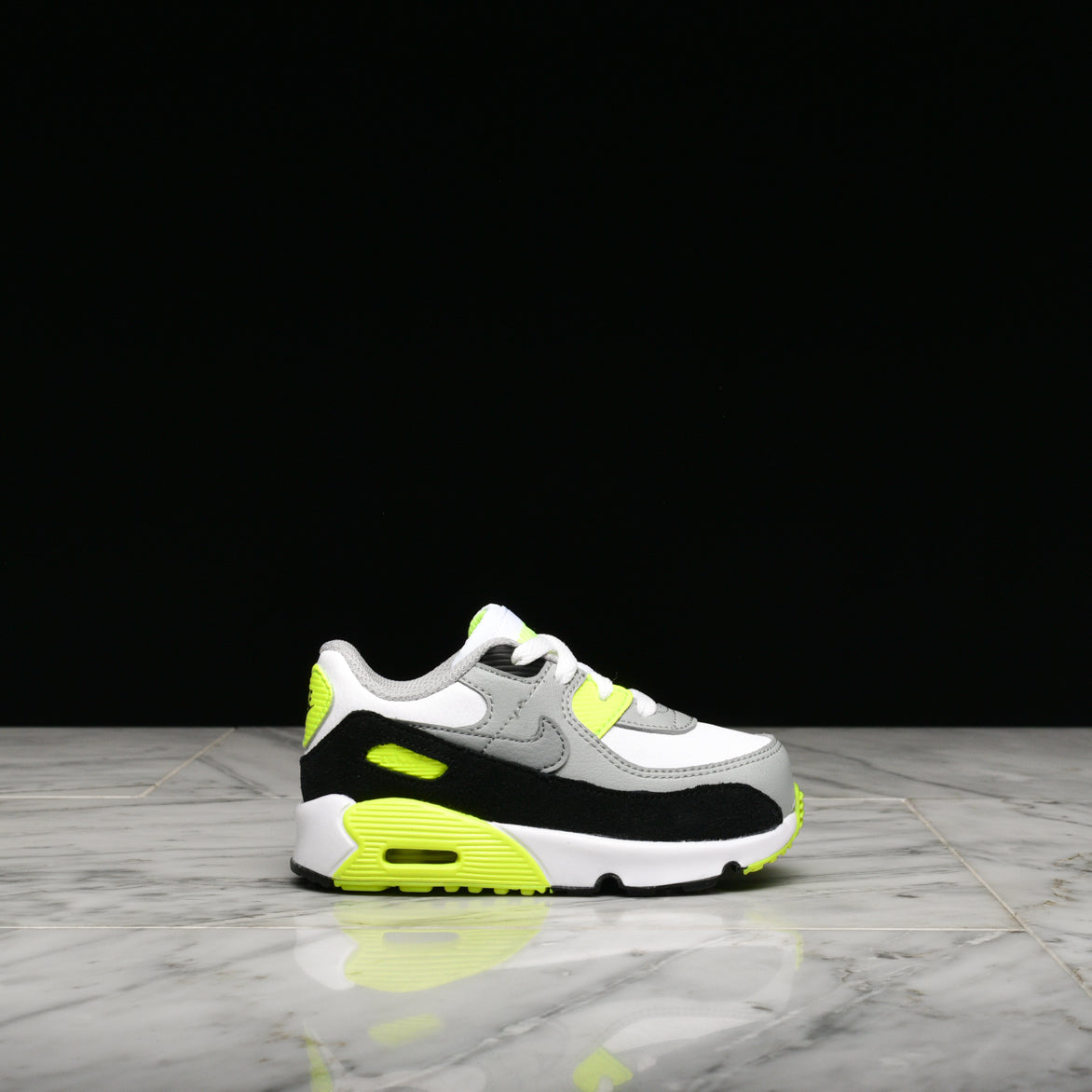 AIR MAX 90 LTR (TD) WHITE PARTICLE GREY VOLT